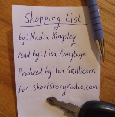 shopping list cover