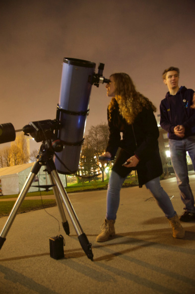Astrosoc at UNDER THE NIGHT STARS workshop