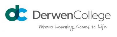 Derwen College logo - where learning comes to life