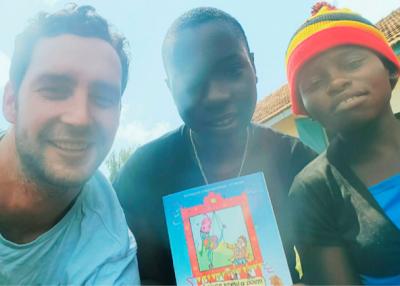 Louis Munro in Uganda 1
